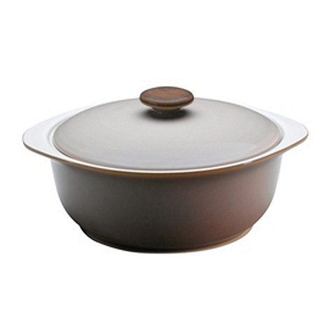 Denby - Truffle oval casserole dish