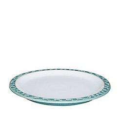 Denby - Azure shell dinner plate