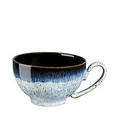 Denby - Glazed 'Halo' rimmed tea cup