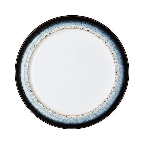Denby - Glazed +Halo+ rimmed dessert plate