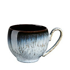 Denby - Glazed 'Halo' rimmed small mug