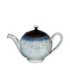 Denby - Halo rimmed tea pot with lid
