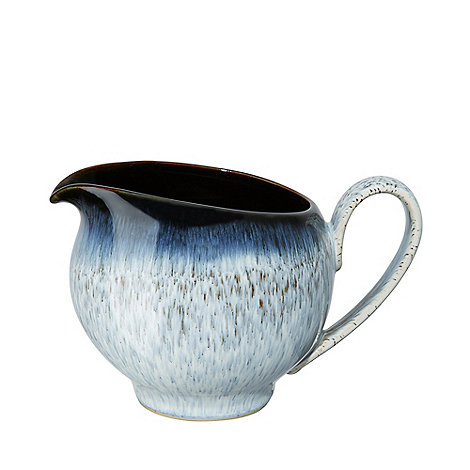 Denby - Glazed +Halo+ rimmed large jug