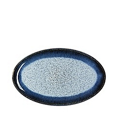 Denby - Halo rimmed oval serving plate