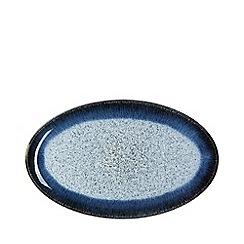 Denby - Halo rimmed oval serving plate