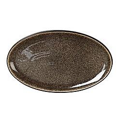 Denby - Praline oval platter dish
