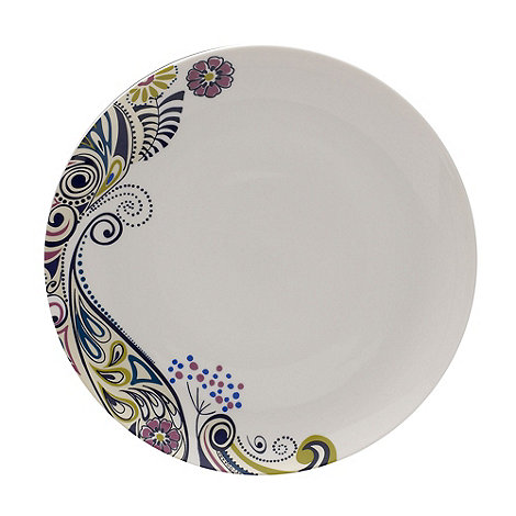 Denby - Monsoon cosmic dinner plate