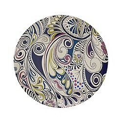 Denby - Monsoon cosmic salad plate