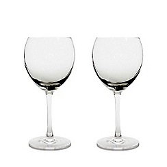 Denby - Set of 2 'Halo' red wine glasses