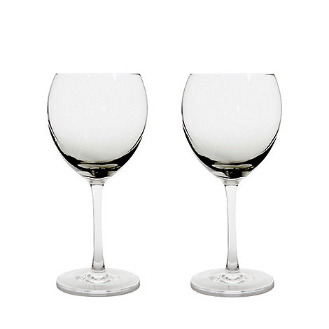 Denby - Halo set of two red wine glasses