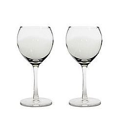 Denby - Set of 2 'Halo' small wine glasses