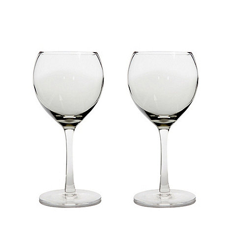 Denby - Set of 2 +Halo+ small wine glasses