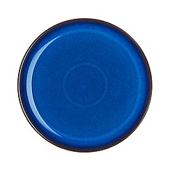 Denby - Glazed 'Imperial Blue' dinner plate