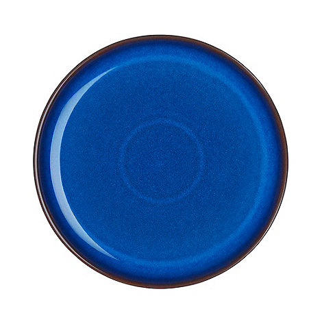 Denby - Imperial blue dinner plate