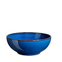 Denby - Glazed 'Imperial Blue' cereal bowl