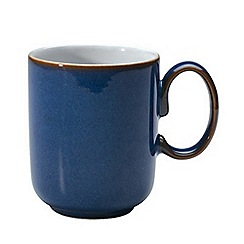 Denby - Glazed 'Imperial Blue' mug