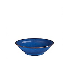 Denby - Imperial blue shallow bowl