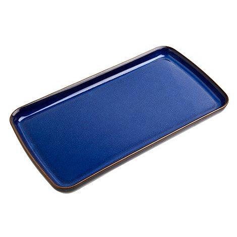 Denby - Glazed +Imperial Blue+ platter