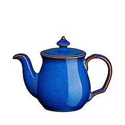 Denby - Imperial blue salt pot