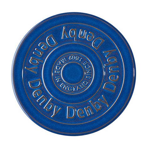 Denby - Imperial blue trivet