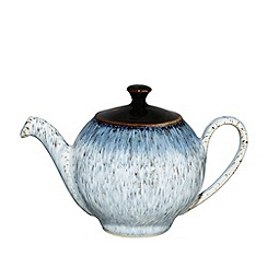 Denby - Light blue glazed 'Halo' salt pot