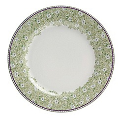 Denby - White 'Monsoon Daisy' border salad plate
