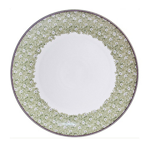 Denby - White +Monsoon Daisy+ border platter