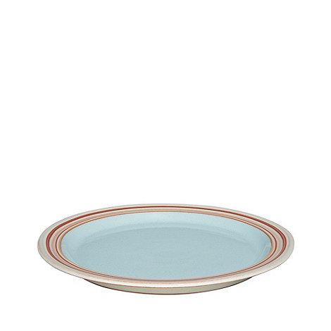Denby - Blue +Heritage Pavilion+ dessert plate