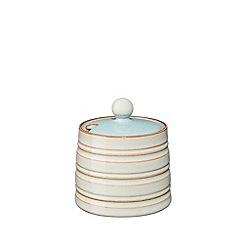 Denby - Blue 'Heritage Pavilion' sugar pot