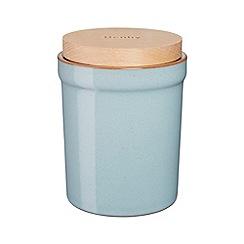 Denby - Blue 'Heritage Pavilion' storage jar