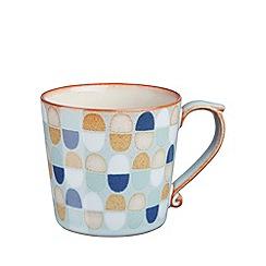 Denby - Blue 'Heritage Pavilion Accent' large mug