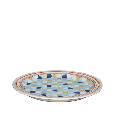 Denby - Blue +Heritage Pavilion Accent+ salad plate