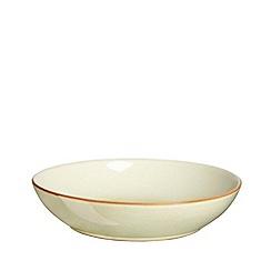Denby - Yellow 'Heritage Veranda' pasta bowl