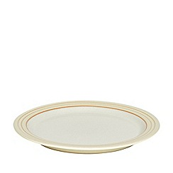 Denby - Yellow 'Heritage Veranda' dinner plate