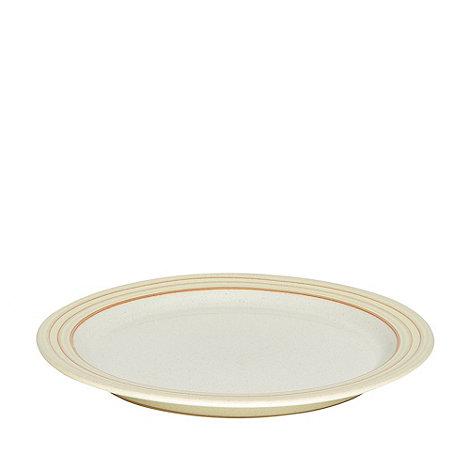 Denby - Yellow +Heritage Veranda+ dinner plate