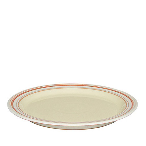 Denby - Yellow +Heritage Veranda+ dessert plate