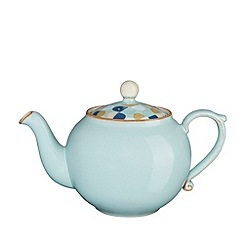 Denby - Blue 'Heritage Pavilion Accent' tea pot