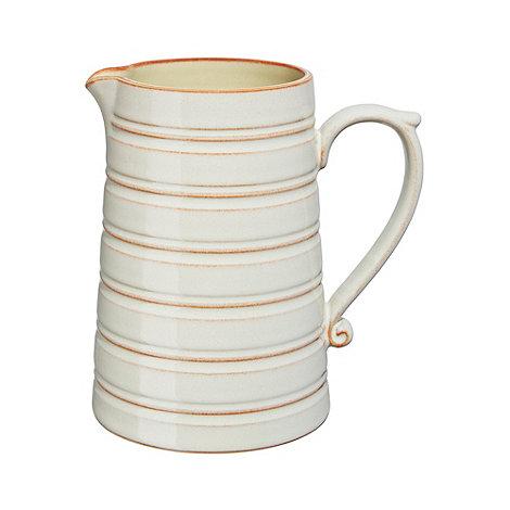 Denby - Yellow +Heritage Veranda+ large jug