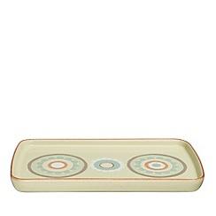 Denby - Yellow 'Heritage Veranda Accent' rectangular plate