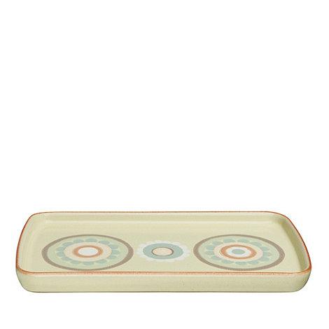 Denby - Yellow +Heritage Veranda Accent+ rectangular plate