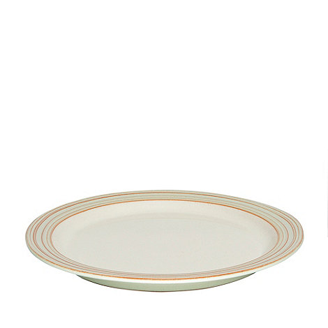 Denby - Cream +Heritage Orchard+ dinner plate