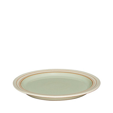 Denby - Pale green +Heritage Orchard+ dessert plate