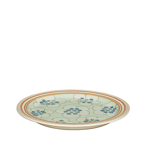 Denby - White +Heritage Orchard Accent+ salad plate