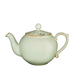 Denby - Pale green 'Heritage Orchard Accent' teapot