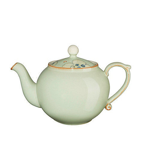Denby - Pale green +Heritage Orchard Accent+ teapot