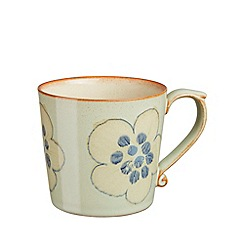 Denby - Pale green 'Heritage Orchard Accent' large mug