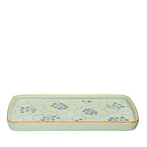 Denby - Pale green +Heritage Orchard Accent+ rectangular plate