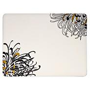 Set of Four Cream Chrysanthemum Placemats