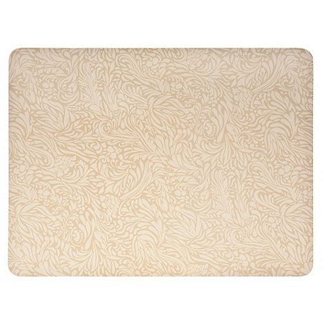 Denby - Pack of 4 gold +Monsoon Lucille+ placemats