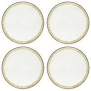 Set of Four Round Daisy Placemats